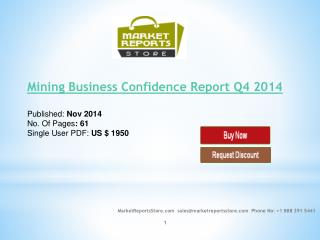 Mining Business Confidence Report Q4 2014
