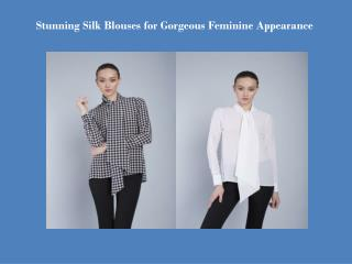 Silk shirts for women