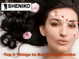 Things to Buy From Sheniko Online Beauty Store