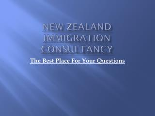 Best Immigration Consultancy in New Zealand