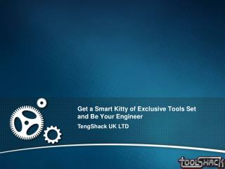Get A Smart Kitty Of Exclusive Tools Set And Be Your Enginee