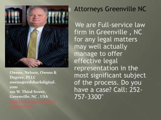 Greenville NC Best Lawyers