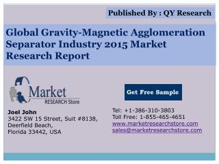 Global Gravity-Magnetic Agglomeration Separator Industry 201