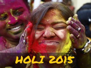 Holi 2015