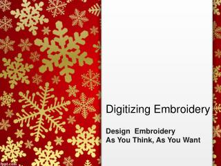 Digitizing Embroidery,Design As you want,Design As you Think