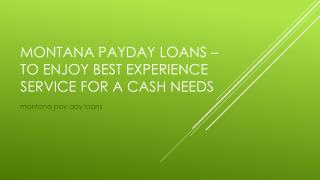 MT payday loan