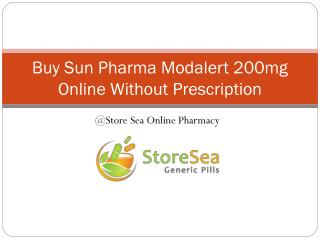 Buy Sun Pharma Modalert 200mg online without prescription