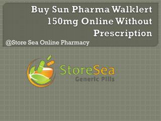 Buy Sun Pharma Walklert 150mg Online
