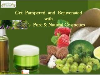 Buy Online Natural Skin Care Products from – kelojou.com