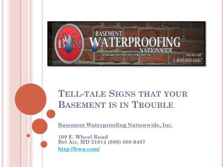 Basement Waterproofing MD