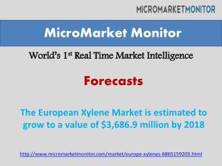 The European Xylene Market is estimated to grow to a value o