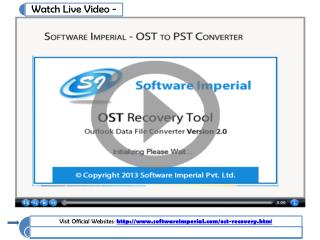Outlook OST to PST Converter Tool to Move OST to PST