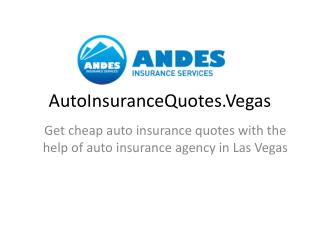 AutoInsuranceQuotes.Vegas � Get cheap auto insurance quotes