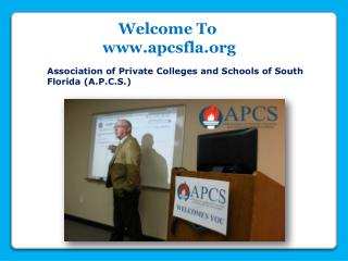 South Florida Admissions Training Program