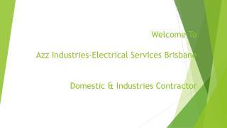 Industrial Electrician Brisbane