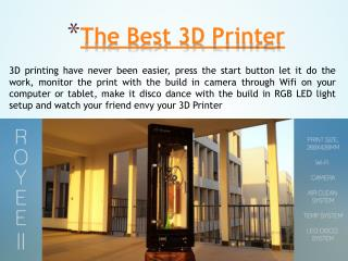 China 3D Printer