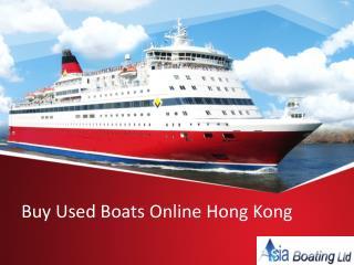Buy Used Boats Online Hong Kong