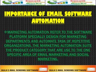 Importance Of Email Software Automation