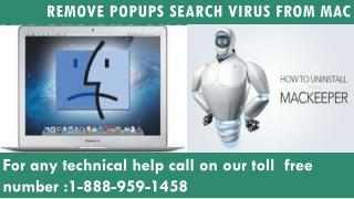 Remove search virus