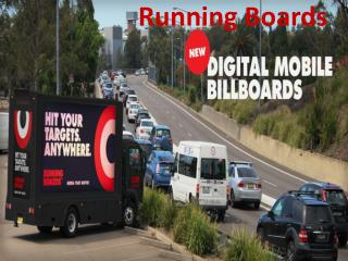 Running Boards-Powerful mobile digital advertising