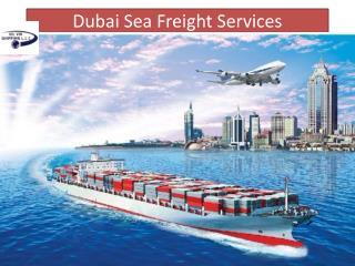 Dubai Sea Freight Services | Vil Vik Shipping L.L.C