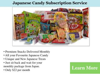 Japanese Candy Store Online | Japanese Treats