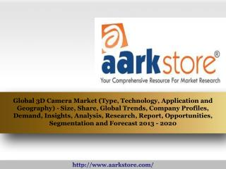 Aarkstore - Global 3D Camera Market (Type, Technology, Appli