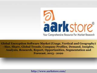 Aarkstore - Global Encryption Software Market