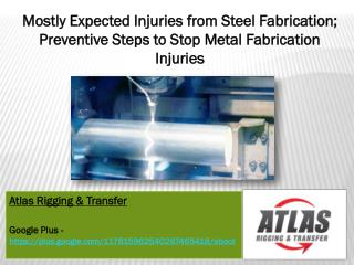 What to expect from the dangers of metal fabrication and pot