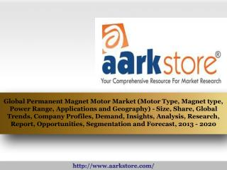 Aarkstore - Global Permanent Magnet Motor Market