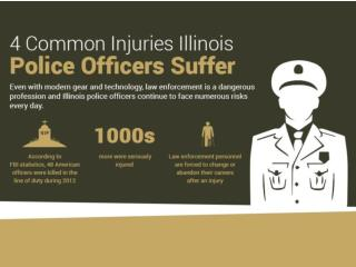 4 Common Injuries Illinois Police Officers Suffer
