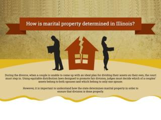 How is Marital Property Determined in Illinois