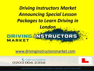 Book Driving Test London
