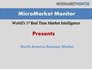 North America Reclosers Market