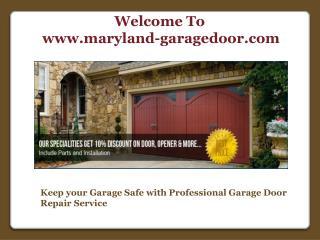 Professional Garage Door Repair Service