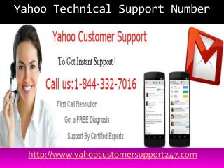 Contact us 1-844-332-7016 Yahoo Password Recovery