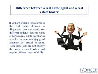 Difference between a real estate agent and a real estate bro
