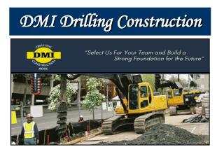 Services Offered By Drilling Companies in the USA