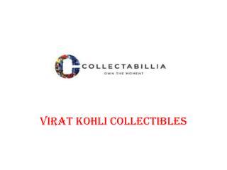 Virat Kohli Collectibles