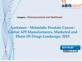 Aarkstore - Metastatic Prostate Cancer