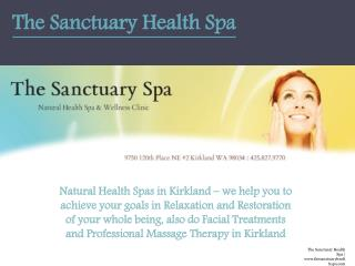 Natural Health Spas in Kirkland