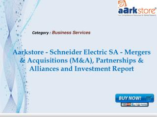 Aarkstore - Schneider Electric SA