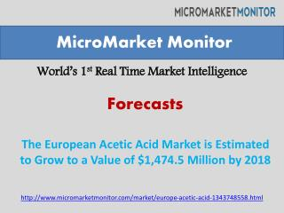 The European Acetic Acid Market(Report,Research,Trend)