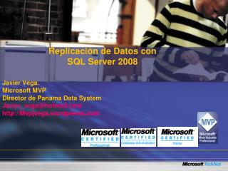 Replicaci n de Datos con  SQL Server 2008