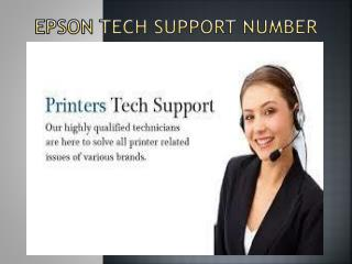 Epson Tech Support Number 1-800-832-1504 | Customer Support