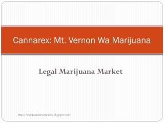 Legal Marijuana Market