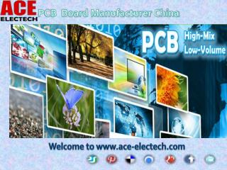 A reliable one-stop PCB solution Supplier in China