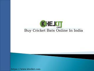 Buy Cricket Bats Online In India - Khelkit.com