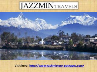 Kashmir Tour Packages From Delhi | Kashmir Tours