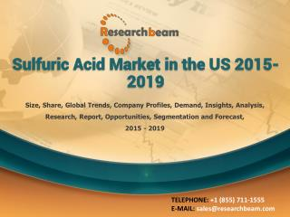 Sulfuric Acid Market in the US 2015-2019